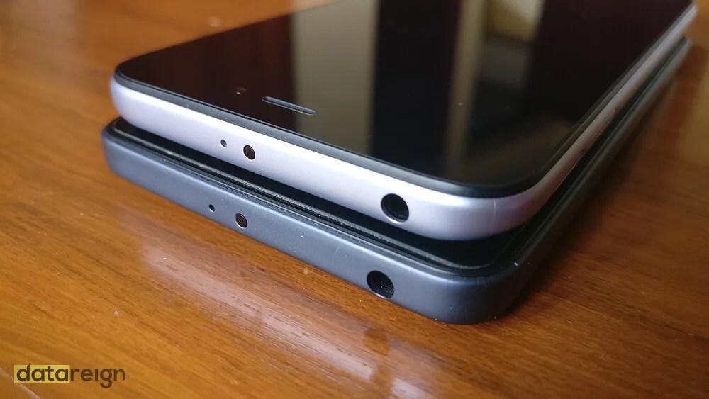 Redmi 5A and Redmi 4A Compare top design