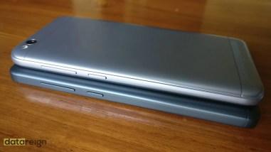 Redmi 5A and Redmi 4A Compare left side design