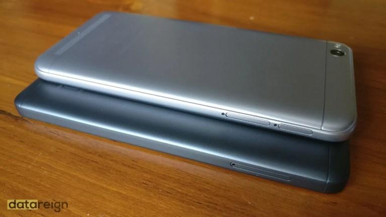 Redmi 5A and Redmi 4A Compare right side design