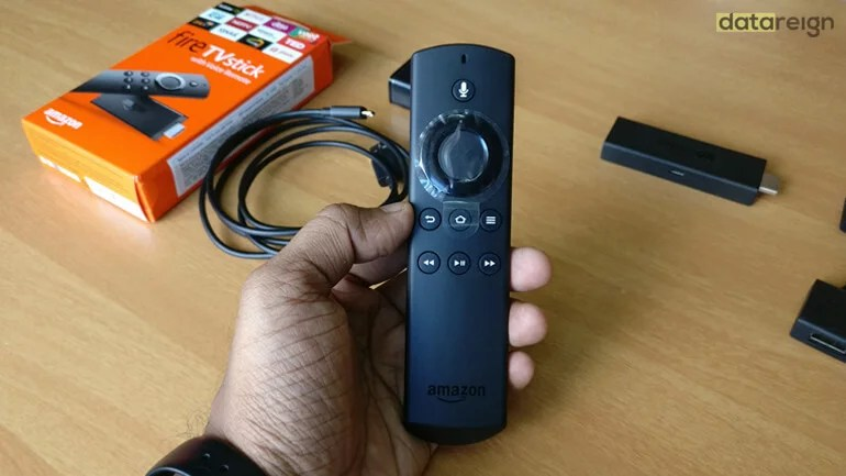 Amazon Fire TV Stick - Alexa voice remote