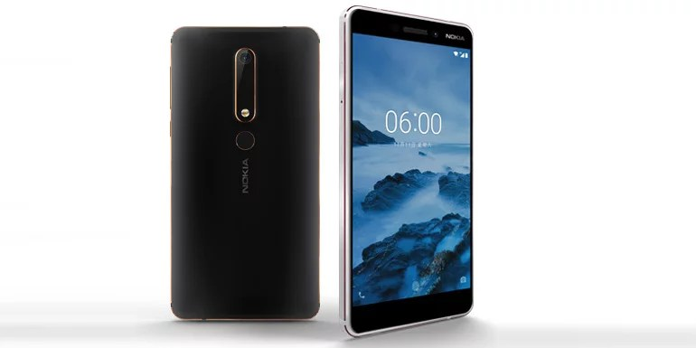 Nokia 6 (2018) second-generation Smartphone unveiled with Snapdragon 630 SoC