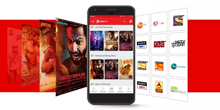 Airtel TV app gains entire catalogue of TV Shows, Movies and Live TV from Hotstar