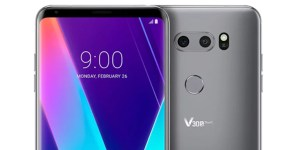 LG V30S ThinQ unveiled with Vision AI and Voice AI: MWC 2018