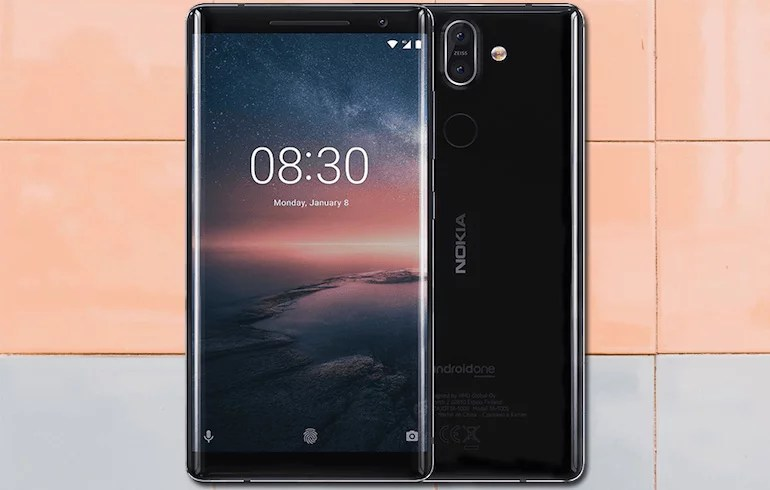 Nokia 8 Sirocco premium android smartphone
