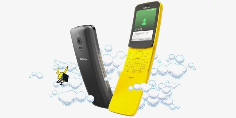 Nokia 8110 feature phone with 4G VoLTE, Apps