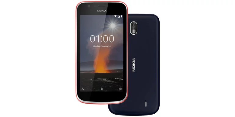Nokia 1 Android Oreo (Go edition) smartphone