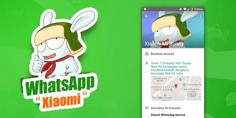 Chat With Xiaomi Mi Bunny On Whatsapp For Updates And Support
