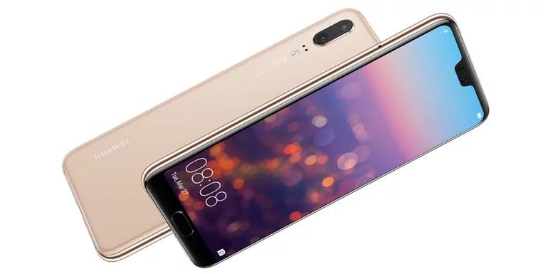 Huawei P20 Glass body design