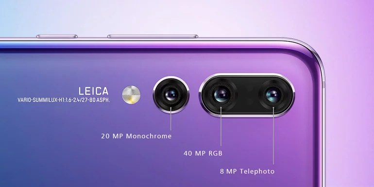 Huawei P20 Pro with Triple Camera
