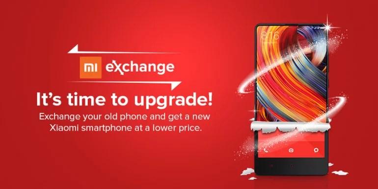 Xiaomi India Mi Exchange Offer
