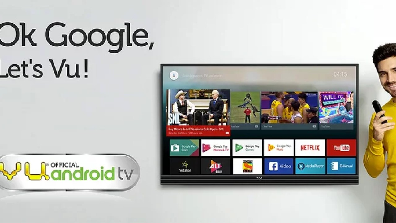 Vu launches 4K Android TVs with built-in Chromecast, Play store support