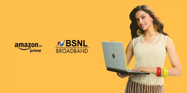 BSNL Broadband launches BBG Combo ULD 700 Amaze Plan with free Amazon Prime membership