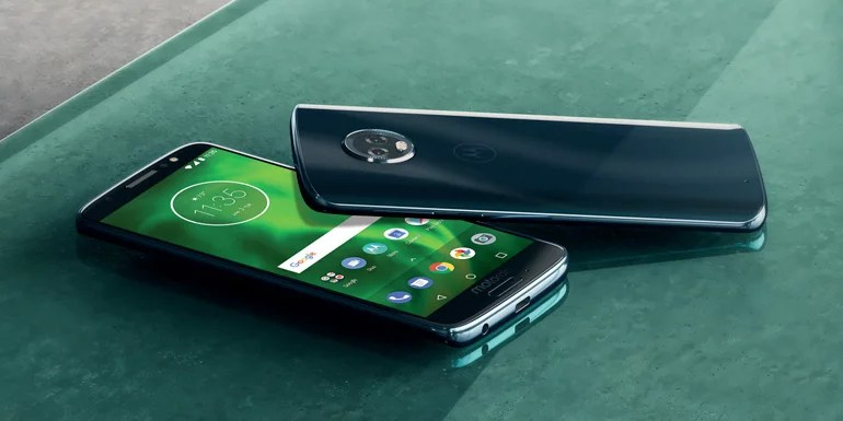 Moto G6 series android smartphones