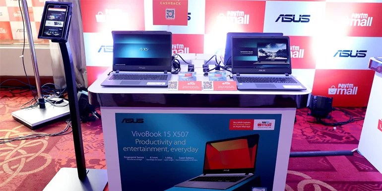 Asus India Launches VivoBook X507 in Partnership With Paytm Mall