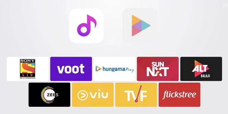 Xiaomi India Adds Online Streaming Services To Mi Music And Video Apps