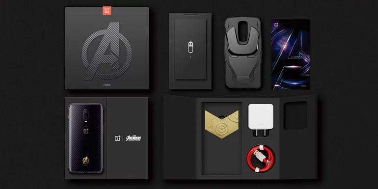 OnePlus 6 Avengers Edition smartphone
