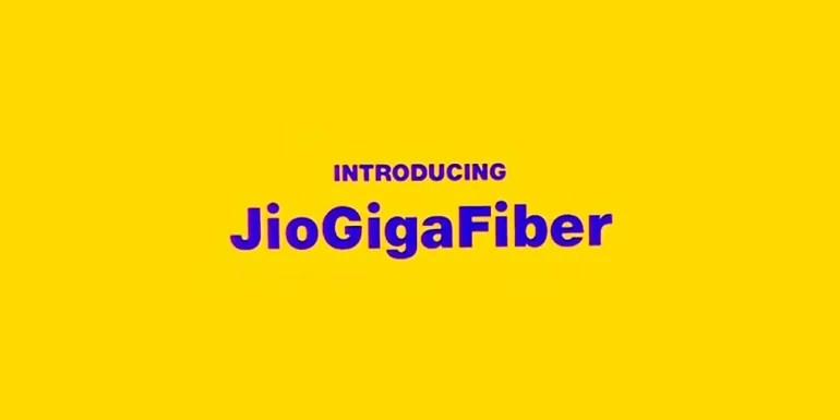 Reliance Jio announces fiber broadband service - Jio GigaFiber