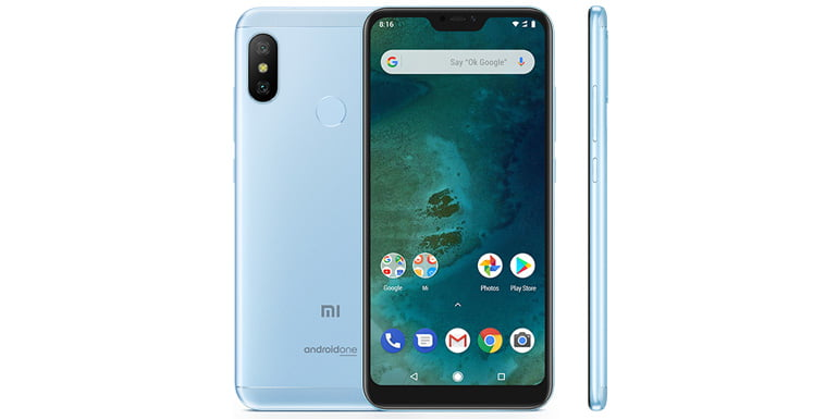 Xiaomi launches Mi A2 Lite Android One Smartphone