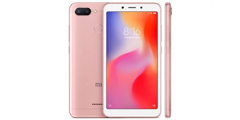 Xiaomi Redmi 6 android smartphone launched in India