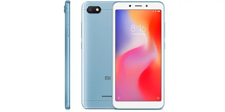 Xiaomi Redmi 6A android smartphone launched in India