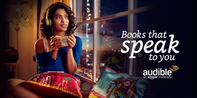 Amazon launches Audible audiobook services in India