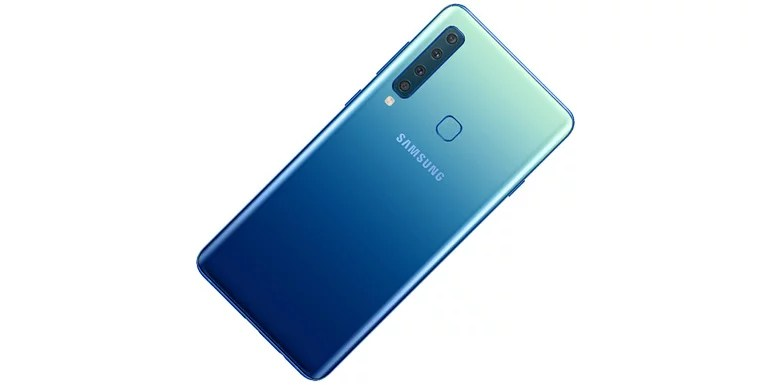 Samsung Galaxy A9 (2018) with quad camera