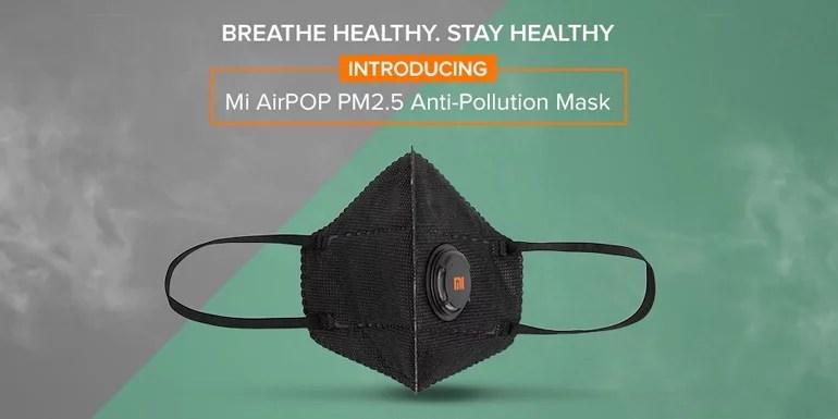 Mi AirPOP PM2.5 Anti-Pollution Mask in India