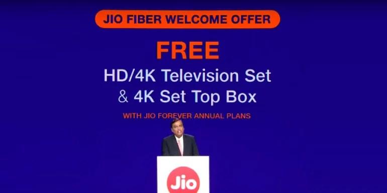 Jio Fiber broadband service Plans and Tariffs