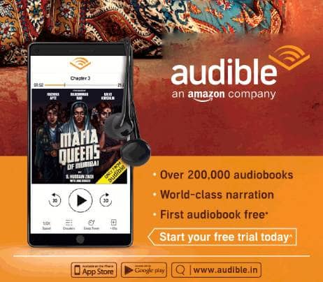 Now get 3 audiobooks free with an exclusive 90-Day FREE trial on Audible from Amazon - the easiest way to read is to listen.