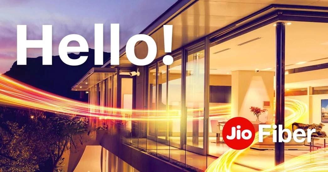 Jio Fiber Wired Broadband Network