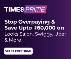 Exclusive! Use coupon code TPAM500 to get Rs 500 Amazon.in Voucher & 250 TataCliq Cash on Times Prime subscription