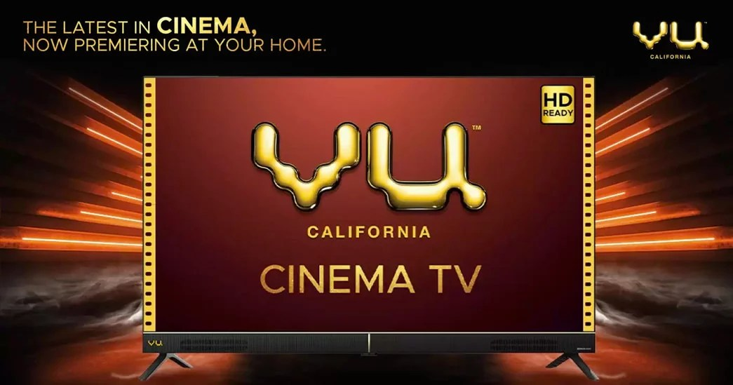 Vu Cinema Smart Android TV series launched in India
