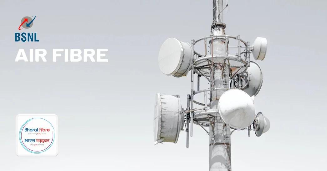 BSNL Bharat Air Fibre high-speed internet service