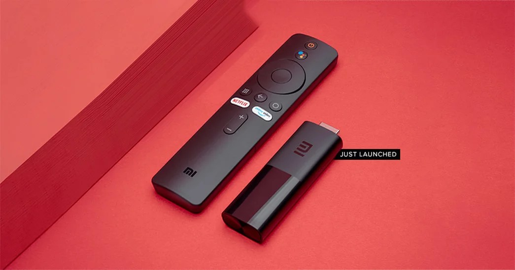 Mi TV Stick with Android TV launched in India