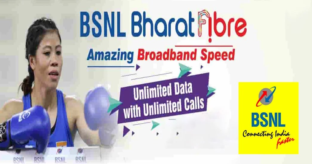 BSNL Unlimited Bharat Fiber Plans