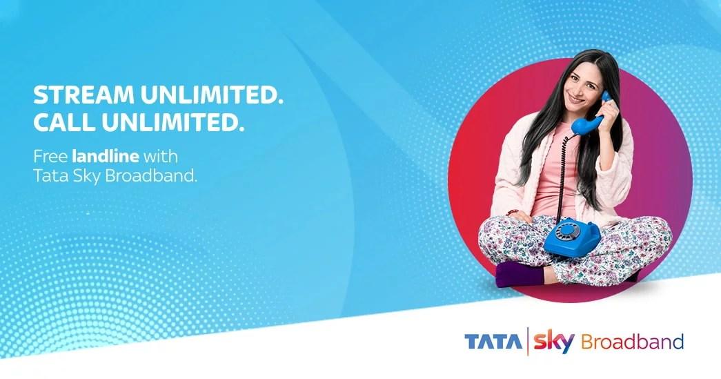 Tata Sky Broadband now comes with landline service