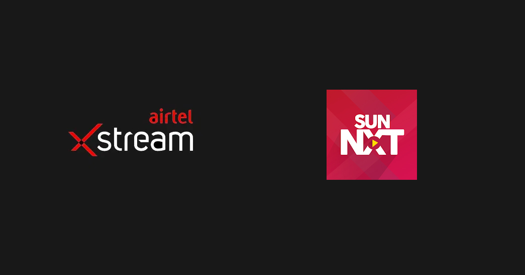 Airtel Xstream integration with Sun Nxt platform