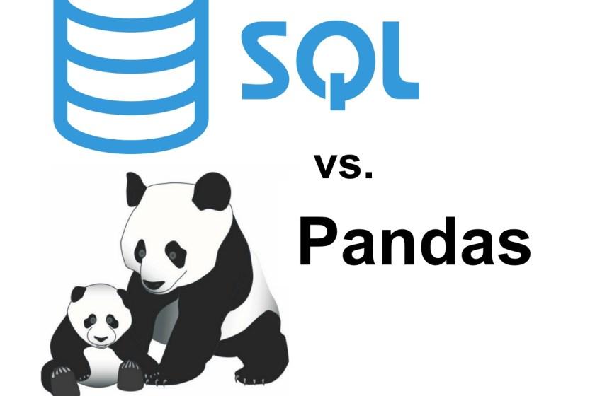 SQL vs Pandas