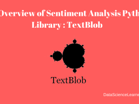 An Overview of Sentiment Analysis Python Library - TextBlob featured image