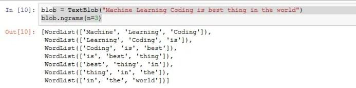 sentiment analysis python code output 4