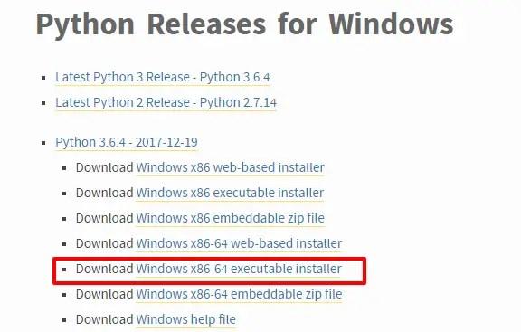 Python Releases for Windows Python org