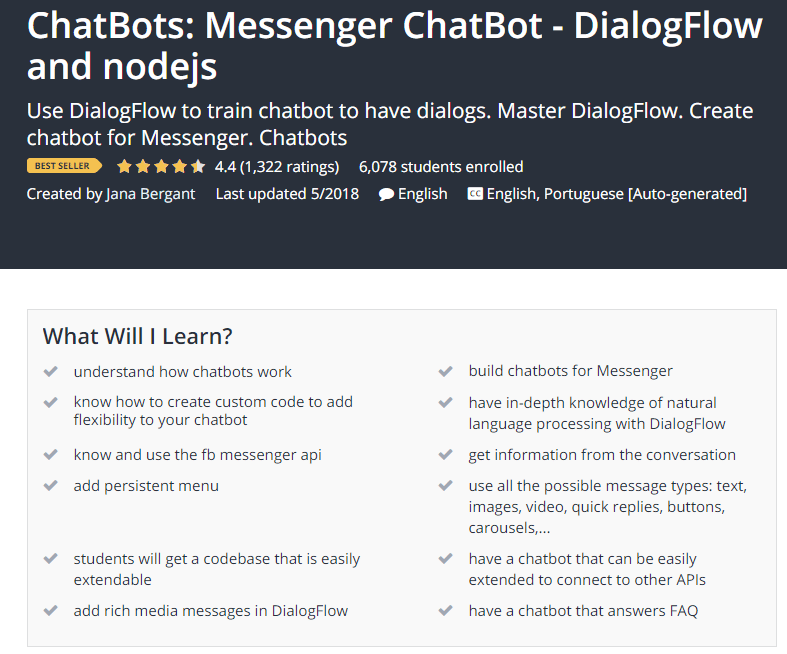 ChatBots Messenger ChatBot DialogFlow and nodejs Udemy.png