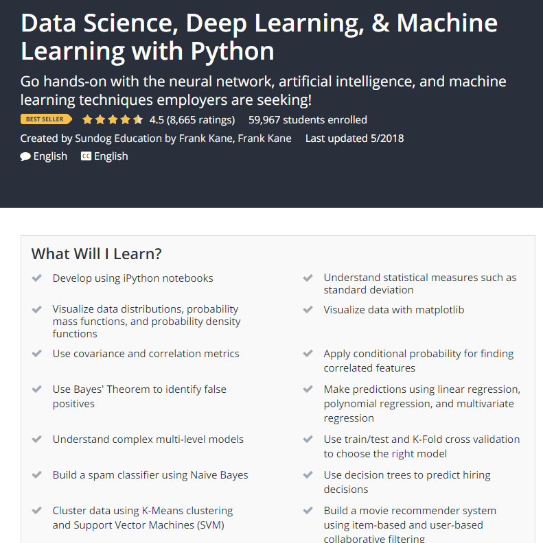 Data Science Deep Learning Machine Learning with Python Udemy.png