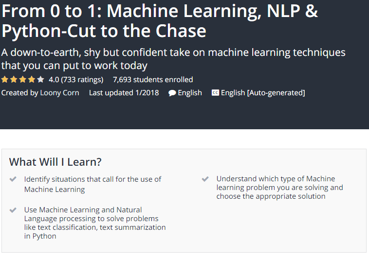 From 0 to 1 Machine Learning NLP Python Cut to the Chase Udemy.png