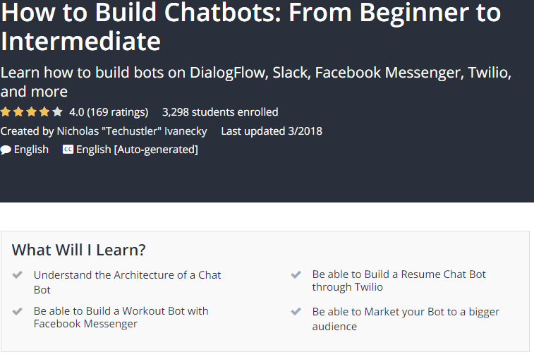 How to Build Chatbots From Beginner to Intermediate Udemy.png