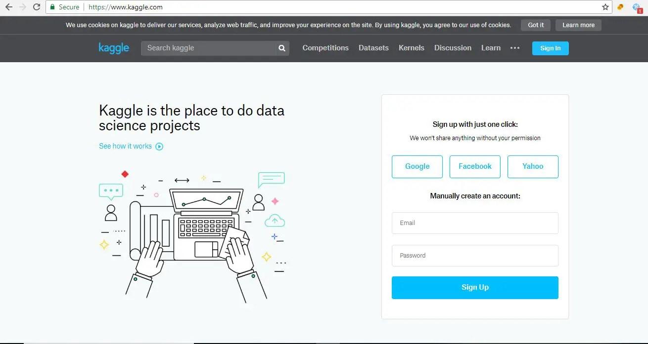 Collaborative Data Science Platform Kaggle