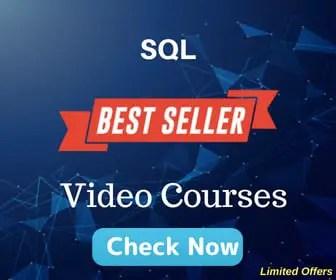 Sql video courses