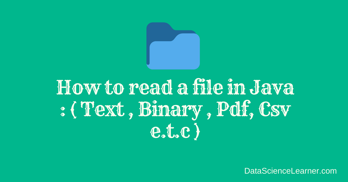 Pdf File With Java