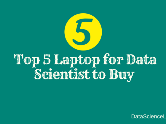 Laptop for Data Scientist