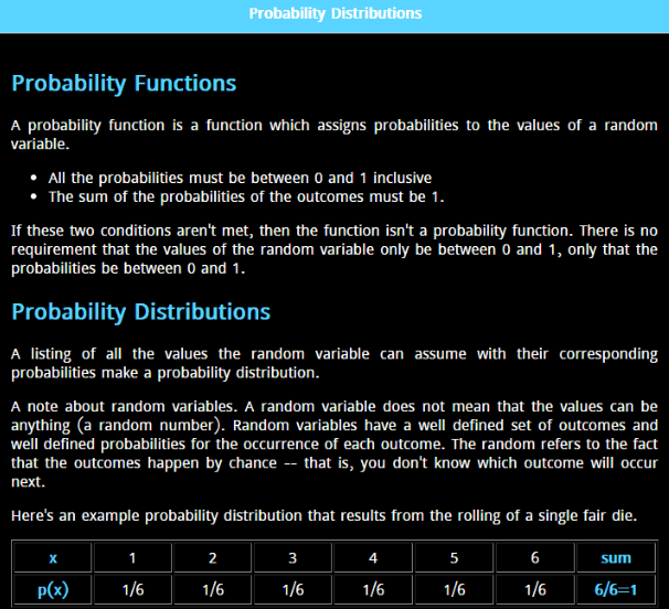 Basic Statistics Mobile app